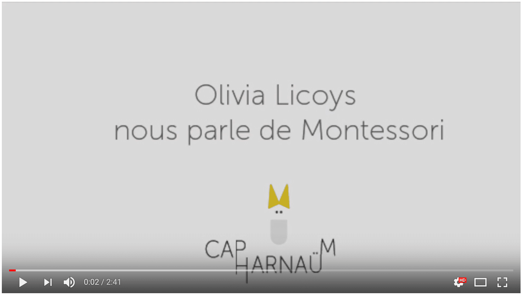 L'interview Home Flow by Olivia pour Capharnaüm