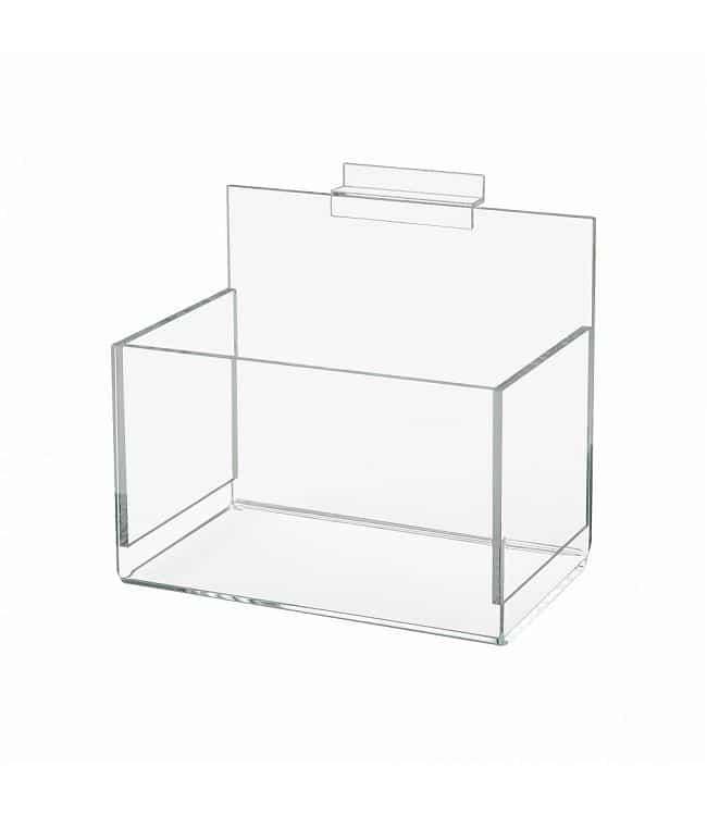 Boite transparente rectangulaire