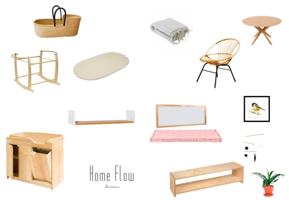 Planche Mobilier Montessori