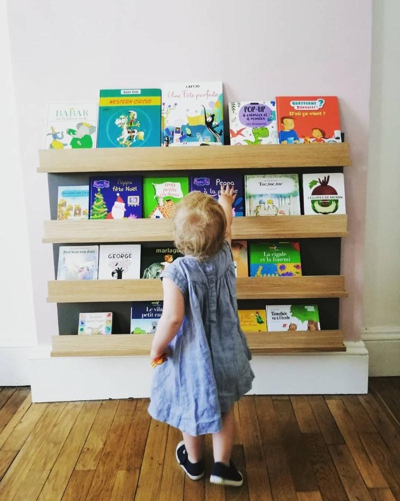 Bibliothèque Montessori : Home Flow coaching Montessori à la maison