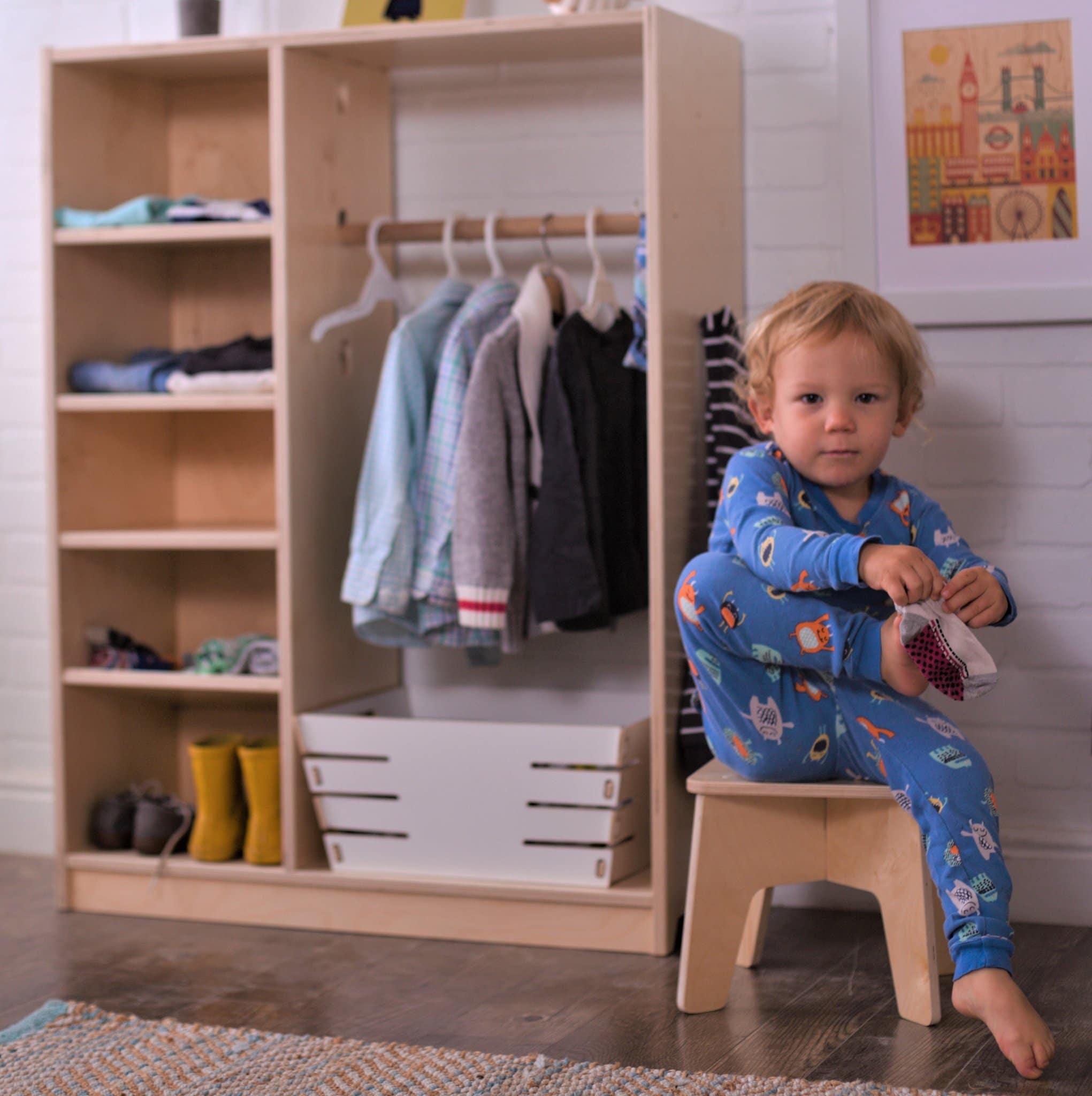Je m'habille tout seul : home flow Montessori