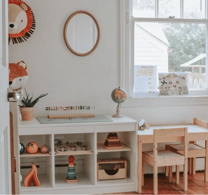 """Comment aménager un coin activité """"Montessori"""" chez soi ?"""